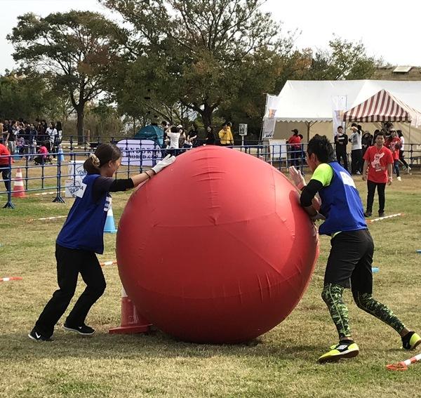 淡路島での運動会に参加しました。